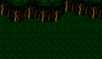 FFIV Battle Background Forest SNES