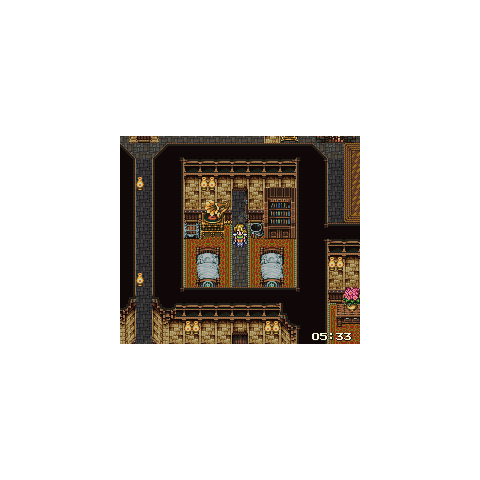 Inside the collapsing house (SNES).