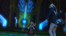 FFXIV Louisoix and Party