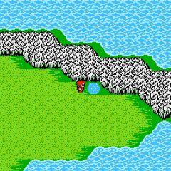 Jade Passage on the World Map (NES).