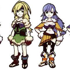 <i>Final Fantasy Crystal Chronicles</i>.