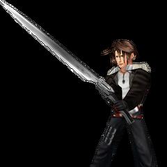 <i>Final Fantasy VIII</i> battle model.