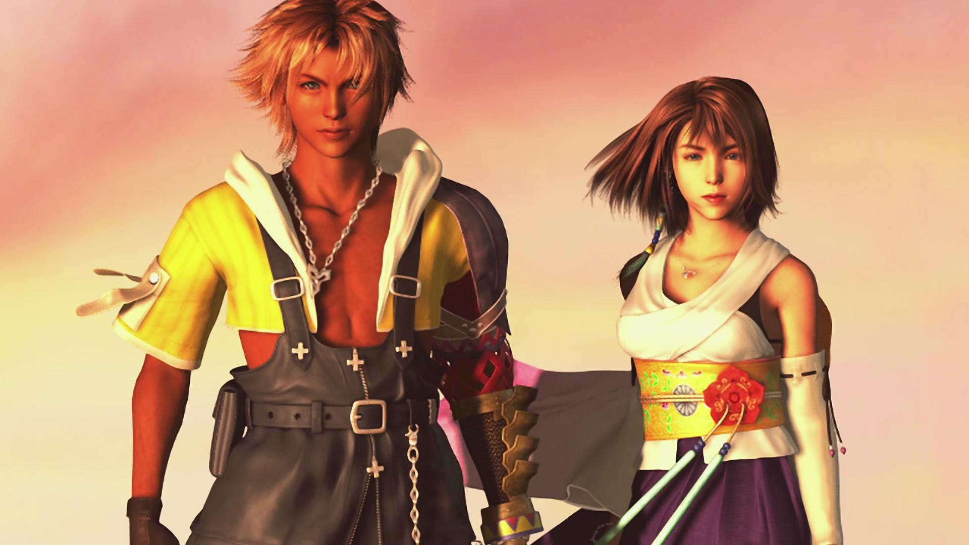 Tidus And Yuna Final Fantasy X Wallpaper WallDevil