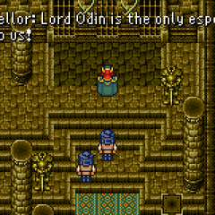 Humans fearing defeat (GBA).