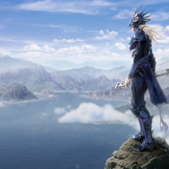 Kain in the opening FMV (PC).