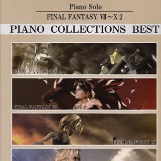 <i>Final Fantasy VII - X-2 Piano Collections Best Sheet Music</i>.