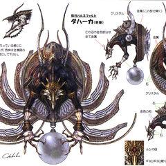 Concept artwork of Dahaka's battle form.