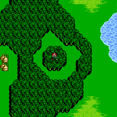 A Chocobo Forest on the world map in <i><a href=