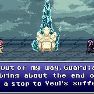 Caius meets Lightning in Valhalla in <i>Lightning Returns: Final Fantasy XIII</i> Retro-spective trailer.