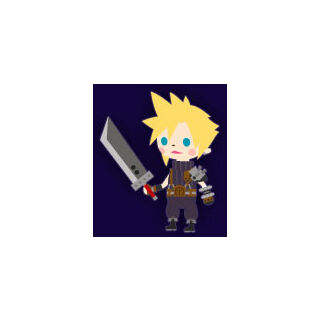 <i>FFVII</i> Cloud.