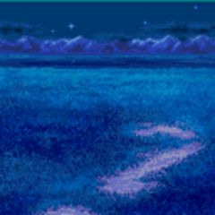 Battle Background in the night (GBA).