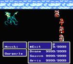 FFIII NES Exit