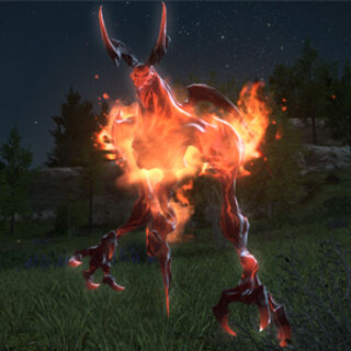 The Ifrit-Egi summonable by players.
