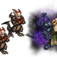 Belias, the Gigas (Ultimate) and Archaeodaemon.