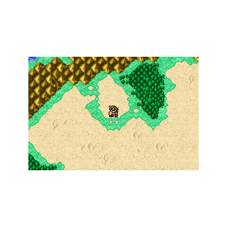 Caravan on the World Map (GBA).
