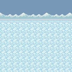 Frozen lake (Aquaria Region).