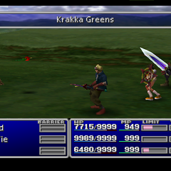 Krakka Greens in <i>Final Fantasy VII</i>.