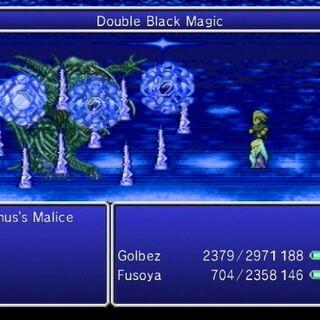 Double Black Magic - Twin Blizzaga.