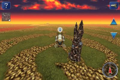 FFVI IOS Kefka's Tower Overworld