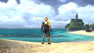 FFX HD Tidus Besaid Beach