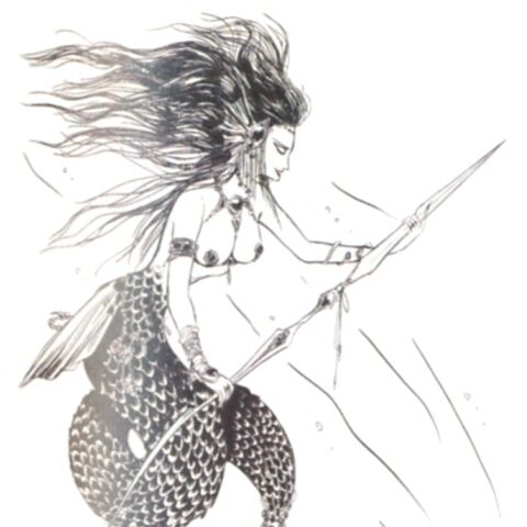 Concept artwork of the Mermaid.