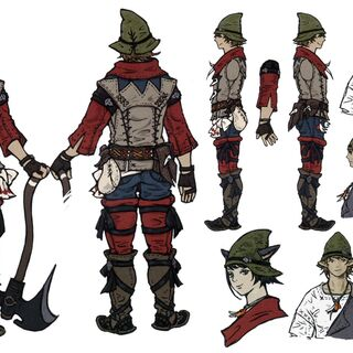 Concept artwork for <i>Final Fantasy XIV: A Realm Reborn</i>.
