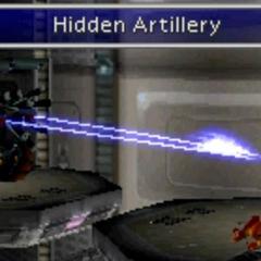 Hidden Artillery.