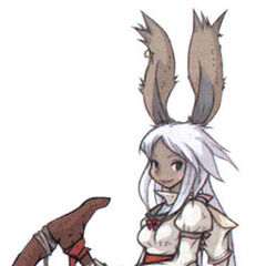 Viera White Mage.