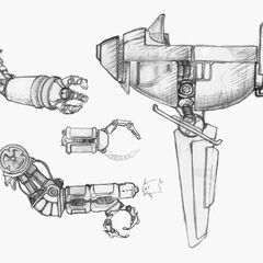 Conceptual artwork for the Air Force vehicles.