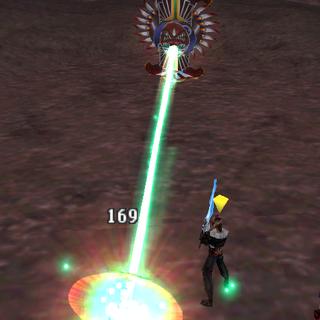 Laser Eye counterattack.