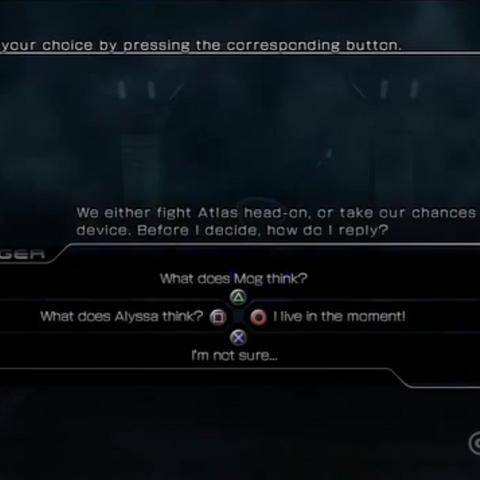Live Trigger screen from E3 2011 demo.
