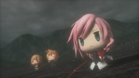 World of Final Fantasy Lightning Champion Summon (1080p 60fps)
