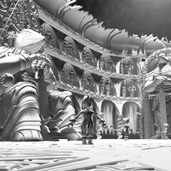 Art of <i>Final Fantasy IX</i> backgrounds by Behrooz Roozbeh.