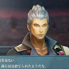 Screenshot of a younger Zhuyu in <i>Final Fantasy Agito</i>.