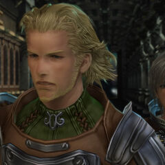 In-game Reks with Basch.