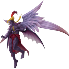 Kefka's God Form render from <i>Dissidia Final Fantasy</i>.