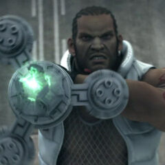 Barret in <i>Advent Children</i>.