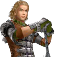 Render of Gabranth's second alternate outfit from <i>Dissidia 012</i>, based on his Basch disguise.