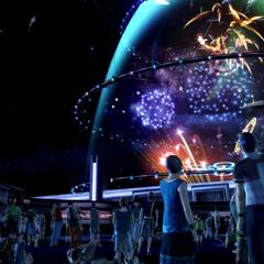 Bodhum's annual fireworks.