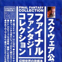 Final Fantasy Collection - Fantasy World Walkthrough Book cover.