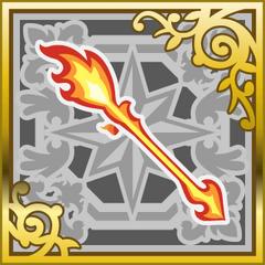 Flamescepter in <i>Final Fantasy Airborne Brigade</i> (SR+).