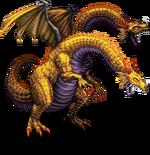 FFBE 2-Headed Dragon Sprite