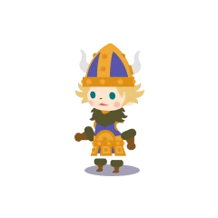 A male Viking in <i><a href=