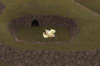 FFIV iOS Sealed Cave Overworld