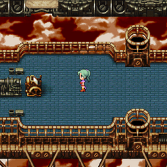 The 'outside' floor of the <i>Falcon</i> (iOS/Android/PC).
