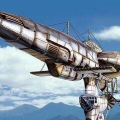 The airship <i>Highwind</i> in <i><a href=