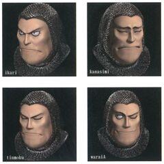 Adelbert Steiner Faces.