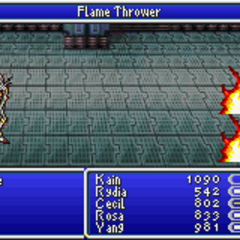 Flame Thrower (GBA)