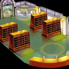 Balamb Garden Library.