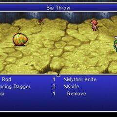 Big Throw.